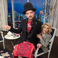 Boy George, Molly Sims Stop By Tonight's FASHION POLICE on E!