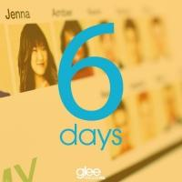 Fresh New GLEE Social Media Image Counting Down 6 Days Until Premiere