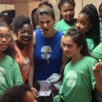 Idina Menzel Celebrates With A BroaderWay Participants