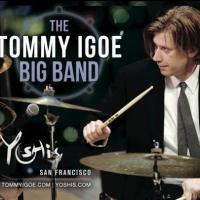 The Tommy Igoe Big Band, Casey Abrams and More Set for Yoshi's San Francisco thru 9/1