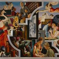 The Met Museum Presents THOMAS HART BENTON'S AMERICA TODAY MURAL REDISCOVERED, Now thru 4/19