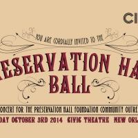 Preservation Hall Ball Benefit Concert Set for NOLA Tonight
