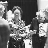 Photo Flash: Sneak Peek - In Rehearsal with Signature Theatre's THE OLD FRIENDS