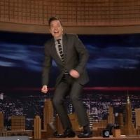 VIDEO: Watch Jimmy Fallon Do THE TONIGHT SHOW Desk Dance!