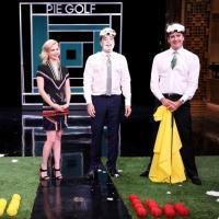VIDEO: January Jones Plays Pie Golf; Talks End of 'Mad Men' on TONIGHT