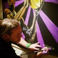Graffiti Artist Hides Original Painting of Magic Johnson in Las Vegas for a Lucky Treasure Hunter