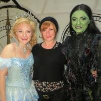 WICKED West End Welcomes Jane Horrocks Backstage