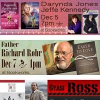 This Week at Bookworks Features Darynda Jones with Jeffe Kennedy, Father Richard Rohr, and More