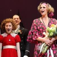 Photo Coverage: The New Miss Hannigan  Takes a Bow! Check Out Jane Lynch's Opening Curtain Call in ANNIE!