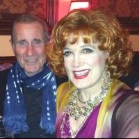 Photo Flash: Jim Dale & Michele Lee Visit Charles Busch at 54 Below
