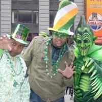 Photo Flash: SPIDER-MAN's Green Goblin Celebrates St. Patrick's Day in Times Square!