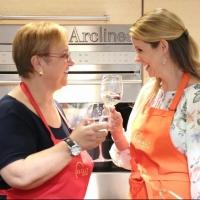 Photo Coverage: Chef Lidia Bastianich Cooks with BRIDGES OF MADISON COUNTY's Kelli O'Hara at Eataly