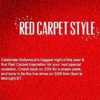 QVC to Broadcast Red Carpet Style Live