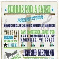Country Star Jerrod Niemann and More Set for CHORDS FOR A CAUSE Benefit, 1/27