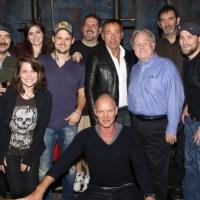 Photo Coverage: Bruce Springsteen Visits Sting at THE LAST SHIP