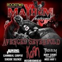 The ROCKSTAR ENERGY DRINK MAYHEM FESTIVAL Announces Official 2014 Artist Line-Up