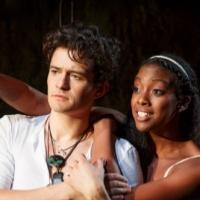 Photo Flash: First Look at Orlando Bloom & Condola Rashad as Star-Crossed Lovers in ROMEO AND JULIET