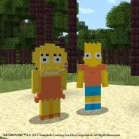 THE SIMPSONS Coming Soon to Minecraft on Xbox