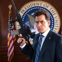 Photo Flash: Charlie Sheen, Michelle Rodriguez & More in New MACHETE KILLS Photos
