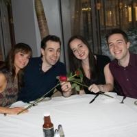 Photo Flash: Fans Double Date with HONEYMOON IN VEGAS' Rob McClure & Brynn O'Malley!