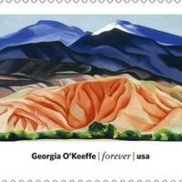 Georgia O'Keeffe Museum Announces New USPS Stamp