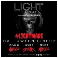 Halloween in Las Vegas: LIGHT Presents #LIGHTMARE with Skrillex, Alesso