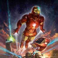 Disney Unveils Concept Art for IRON MAN EXPERIENCE, Arriving in Hong Kong Disneyland in 2016