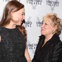 Photo Coverage: BILLY & RAY Opens Off-Broadway - After Party Including Proud Mom ... Bette Midler!
