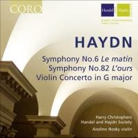 H&H and CORO's New Live Haydn Recording Features Aisslinn Nosky