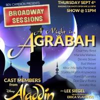 Courtney Reed and More ALADDIN Cast Members Set for Broadway Sessions, 9/04