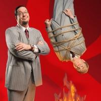 Legendary Magicians Penn and Teller Guest on Syfy's NAKED VEGAS Tonight