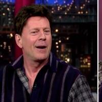VIDEO: Bruce Willis Brings Back His 1985 Hair on LETTERMAN