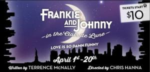 Virginia Stage to Present FRANKIE AND JOHNNY IN THE CLAIR DE LUNE, 4/1-20