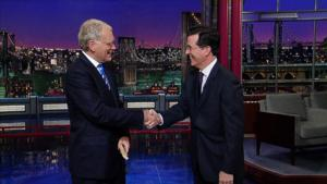 David Letterman Reacts to COLBERT Hiring: 'I'm Flattered'!