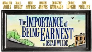 Nigel Havers and Martin Jarvis Star in THE IMPORTANCE OF BEING EARNEST at the Harold Pinter Theatre, Beg. Tonight