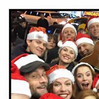 Photo Flash: JERSEY BOYS and THE LAST SHIP Casts Sing Christmas Carols on Saturday Night Shout for New York Cares
