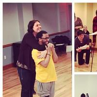 Photo Flash: Photo Flash: Sonnet Rep's The Servant of Two Masters in Rehearsal