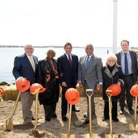Photo Flash: NYC Parks Breaks Ground on City Island's New Street End Plaza at Belden Point