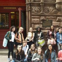 Photo Flash: Amas Musical Theatre's Rosetta LeNoire Musical Theatre Academy Visits FAME School Photos