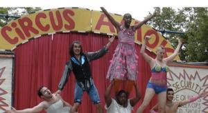 Circus Amok Parks Tour Plays Sundays in September 9/26-28