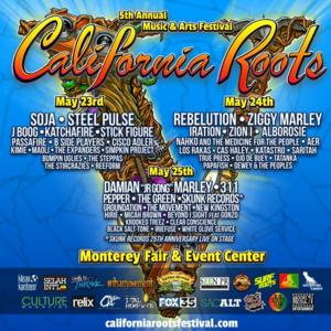 2014 California Roots Music and Arts Festival Set for Monterey County Fairgrounds, 5/23-25