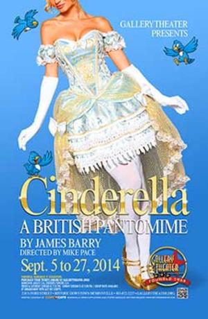 CINDERELLA to Open Sept 5 at the Gallery Theater