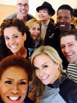 Laura Bell Bundy Shares HAIRSPRAY Reunion Selfie on Facebook