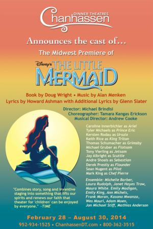 Chanhassen Dinner Theatres to Present Disney's THE LITTLE MERMAID, Begin. 2/28