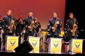 United States Air Force Band of the Golden West Jazz Ensemble to Play Mesa Arts Center, 4/23