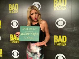 CBS's BAD TEACHER Earns Good Ratings!