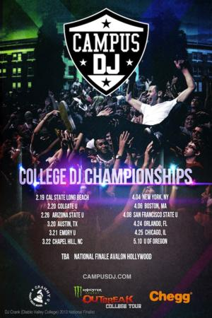 Campus DJ Announces Second Nationwide Search for the Top College DJ
