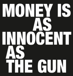 Anon's MONEY IS AS INNOCENT AS THE GUN to Play Brighton Fringe, May 11-23