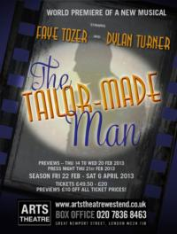 Mike McShane to Join Faye Tozer and More in THE TAILOR-MADE MAN at the Arts Theatre, Feb. 21