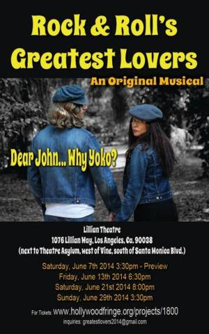 BWW Reviews: ROCK & ROLL'S GREATEST LOVERS Shares the Inspirational John Lennon and Yoko Ono Love Story